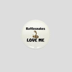 Rattlesnakes Love Me Mini Button