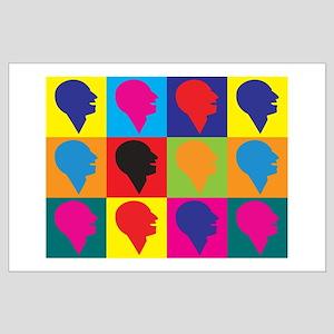 Speech-Language Pathology Pop Art Large Poster