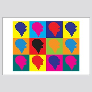 Speech Therapy Pop Art Large Poster