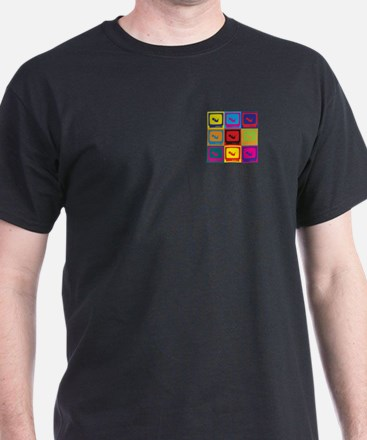 Sonograms Pop Art T-Shirt