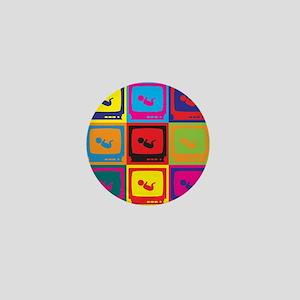 Sonograms Pop Art Mini Button