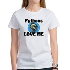 Pythons Love Me Women's T-Shirt