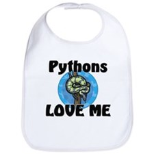 Pythons Love Me Bib