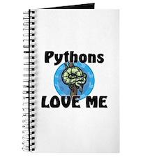 Pythons Love Me Journal