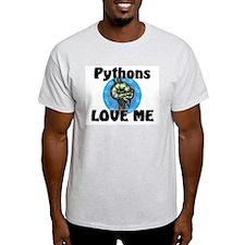 Pythons Love Me Light T-Shirt
