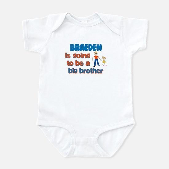 Braeden - Big Brother To Be Infant Bodysuit