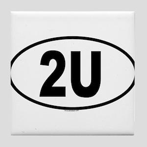 2U Tile Coaster