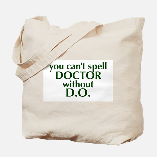 Osteopathic Tote Bag - Green