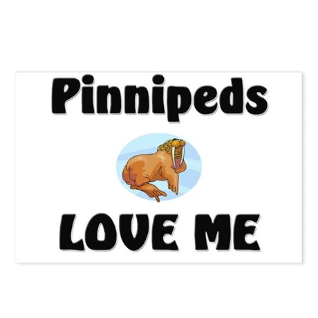 Pinnipeds Love Me Postcards (Package of 8)