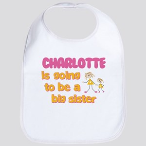Charlotte - Big Sister To Be Bib