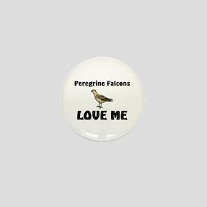 Peregrine Falcons Love Me Mini Button