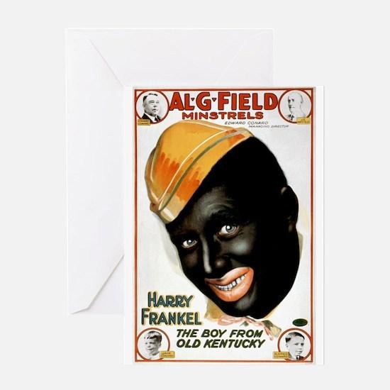Al G Field Mistrels Greeting Card