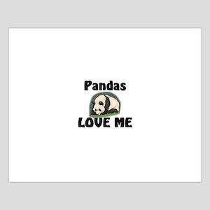 Pandas Love Me Small Poster