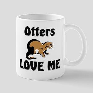 Otters Love Me Mug