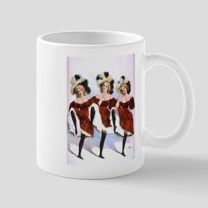 Can-Can Girls Mug