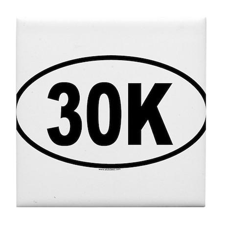 30K Tile Coaster