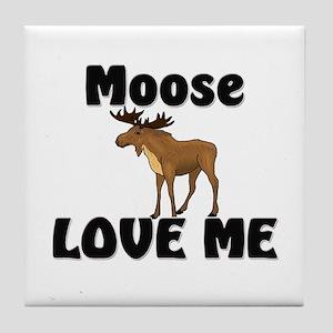 Moose Love Me Tile Coaster