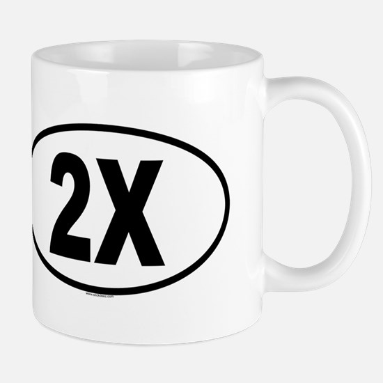 2X Mug