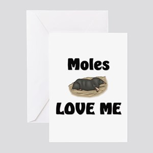 Moles Love Me Greeting Cards (Pk of 10)