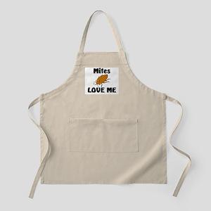 Mites Love Me BBQ Apron