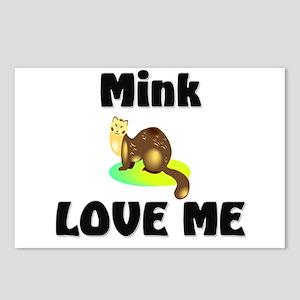 Mink Love Me Postcards (Package of 8)