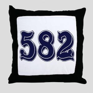 582 Throw Pillow