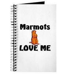 Marmots Love Me Journal