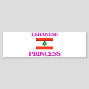 Lebanese Princess Bumper Sticker