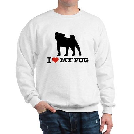 I love my Pug Sweatshirt