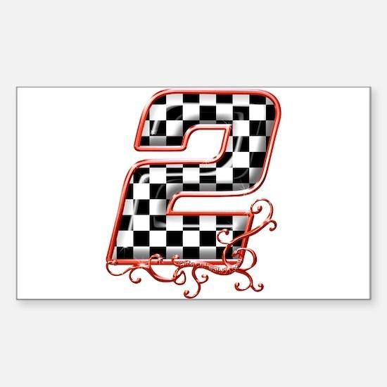 RaceFashion.com Rectangle Decal