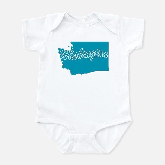 State Washington Infant Bodysuit