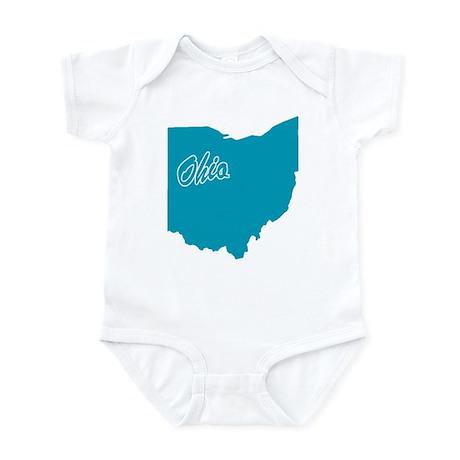 State Ohio Infant Bodysuit