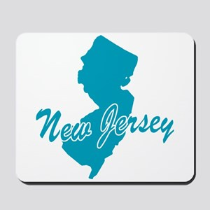 State New Jersey Mousepad