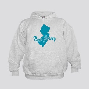 State New Jersey Kids Hoodie