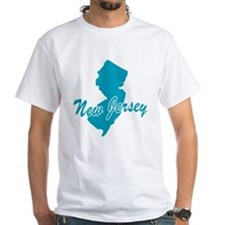 State New Jersey White T-Shirt