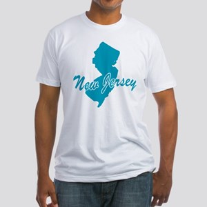 State New Jersey Fitted T-Shirt