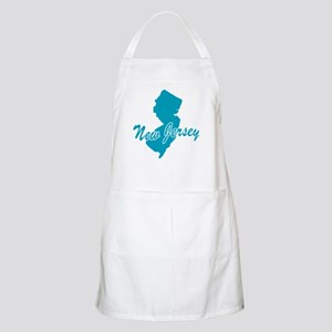 State New Jersey BBQ Apron