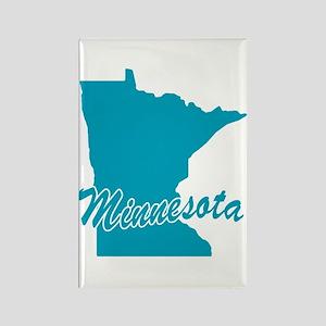 State Minnesota Rectangle Magnet