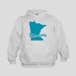 State Minnesota Kids Hoodie