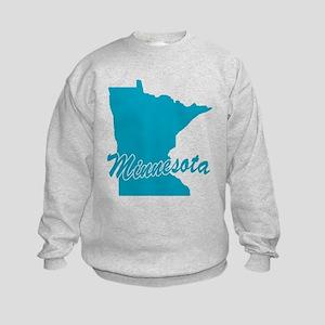 State Minnesota Kids Sweatshirt