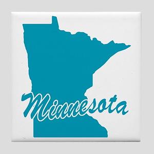State Minnesota Tile Coaster
