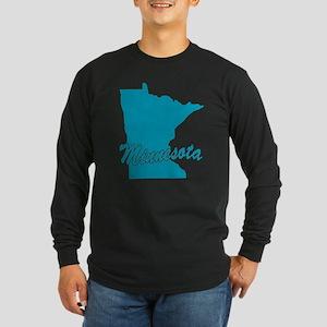 State Minnesota Long Sleeve Dark T-Shirt