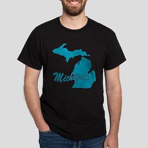 State Michigan Dark T-Shirt