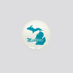 State Michigan Mini Button