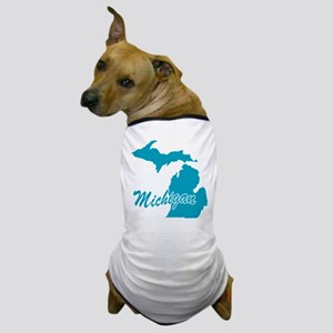 State Michigan Dog T-Shirt