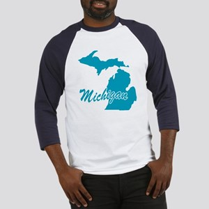 State Michigan Baseball Jersey