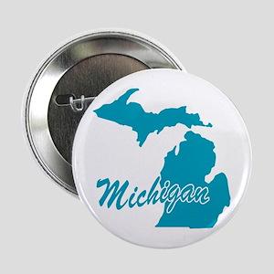 "State Michigan 2.25"" Button"