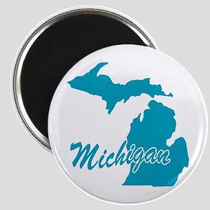State Michigan Magnet