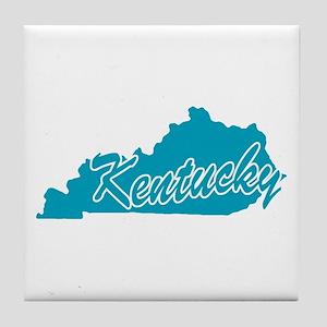 State Kentucky Tile Coaster