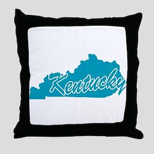 State Kentucky Throw Pillow